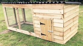 new 8 ft dog kennel and run