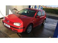 Volkswagen golf mk4 1.4 spares or repairs 6 months mot left SFS