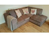 Corner Sofa Mink Great Condition!