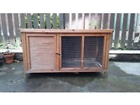 Guinea pigs & cage ( guinea pigs & cage are away , sorry)
