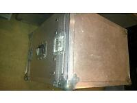 "8U 19"" rack flight case / flightcase / flite case"