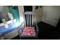 Beautiful shabby chic vintage chair