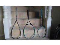 Tennis, Squash and Badminton Rackets