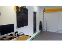 Bright and Spacious Studio/Office Space