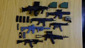 1/6 scale misc gun assortment