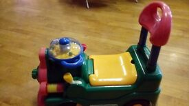 Push/Ride along tractor