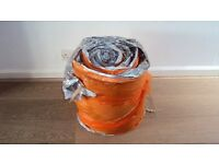 Loft insulation roll, half left, as new in packet, approx 4 1/2 metres length x 40cm width.