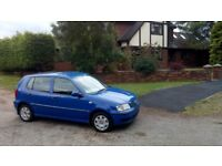 Vw Polo E 2001 1ltr MOT untill 03/19! Spotless inside and out! Perfect example&Mint runner! Bargain!