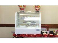 Countertop display fridge