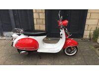 50cc AJS Modena Scooter.. Perfect Conditon.. MOT Until 2018