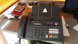 Brother FAX - 930. Plain paper fax machine