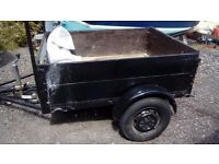CAR TRAILER 4.6 FT BY 3.6FT