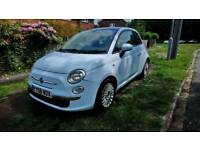 Fiat 500 1.3 Turbo Diesel 2008 Mot Low Tax Insurance 70mpg Blue