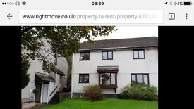 Unfurnished 2 bed house to rent in Totnes near town centre