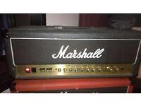 MARSHALL VALVE AMP HEAD - JCM 2000 DSL 50