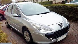 2007 Peugeot 307 1.4 16v Immaculate No Dent or Scratch Low Mileage Only 55000