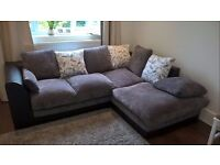 Slightly used corner sofa for sale. In excellent condition.