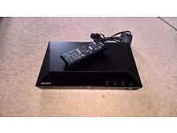 SONY Bluray/DVD Player w/Remote + Online Streaming
