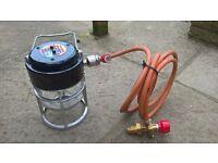 Bullfinch - Gas light with regulator, Never used
