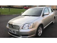 04 plate Toyota avensis 1.8