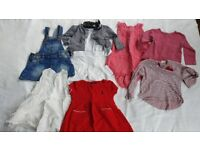 Bundle of girl clothes 12mths