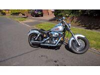 Harley Davidson Custom Bobber 1450 cc twincam (2000 Dyna )