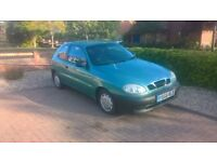 daewoo lanos 1.4 new mot cheap new price