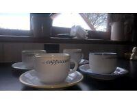 Beautiful Traditional Coffee Cups