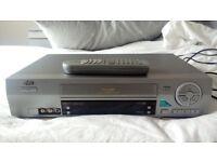 JVC VIDEO PLAYER VCR NICAM VHS NTSC/PAL PLAYBACK MODEL HR-J670