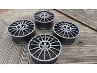 """18"""" OZ Superturismo Wheels BMW(e36 e46 e39 E60 E90 5x120 Rims Alloys BBS Racing)"""