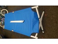 Fold away camp bed. Very good condition