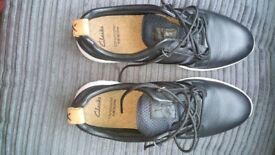As New black clarks shoe size 9.5
