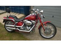 Harley Davidson 2007 Screaming Eagle in Purple Red with Electronic Gear Shifter