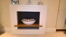 Fireplace - Cube Shelf Vessel. Brand new, in box unopened.