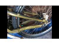 Cannondale super v 3000 mountain bike moto fr