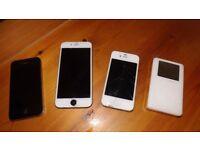 Job lot iphone 6* 2 iphone 4s* jphone 6 case* 40gb ipod