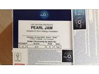 Pearl Jam - London O2 3X tickets