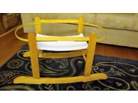 Adjustable Wooden Rocking Moses Basket Stand