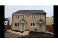 New Build 2 bed semi-detached house to rent from end of May 2017