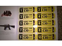 10 Paintball tickets worth £300