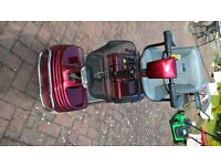 Red Shopper Mobility Scooter