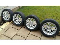 """4 x 16"""" Alloy Wheels & Tyres"""
