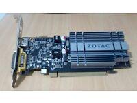Video Card Zotac G210 512MB passive card.