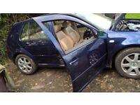 2004 Volkswagen Golf GTI in Blue