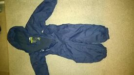 Trespass winter baby body suit, as new. 18-24 months, used little and clean. no spillages