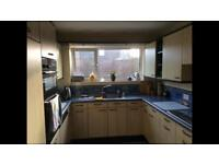 Kitchen for sale including dishwasher, fridge/freezer and oven
