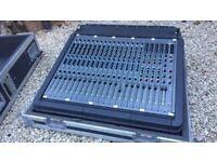 DDA 16 channel mixer (Midas analogue)
