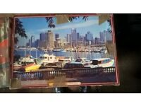 Large Jigsaw puzzles - 1000 pieces - x4