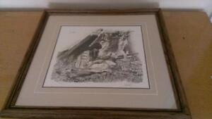 Paul Calle print - Excellent Condition - $125.00 OBO