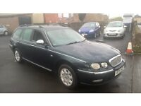 BARGAIN ROVER 75 ESTATE LOW MILES £295 CHEAPER PX WELCOME